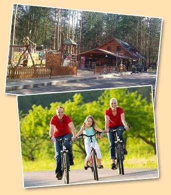 Možnosti zábavy nedaleko Cyklistické výlety v okolí Máchova jezera nedaleko chatové osady Čtyřlístek