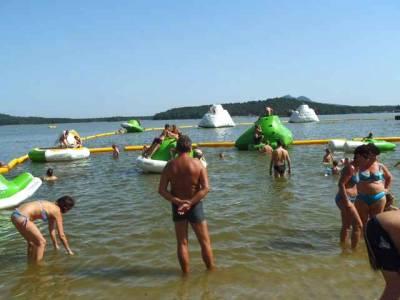 Aquapark Staré Splavy nedaleko Chatové osady Čtyřlístek