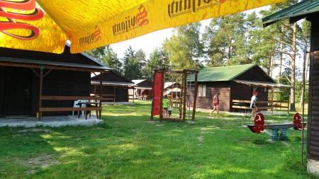 Hřiště v Chatové osadě Čtyřlístek u Máchova jezera